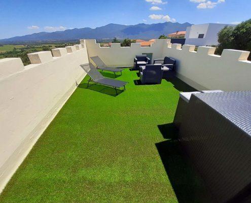toit terrasse et solarium